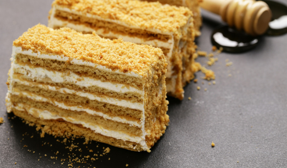 Tradicionālā medus kūka