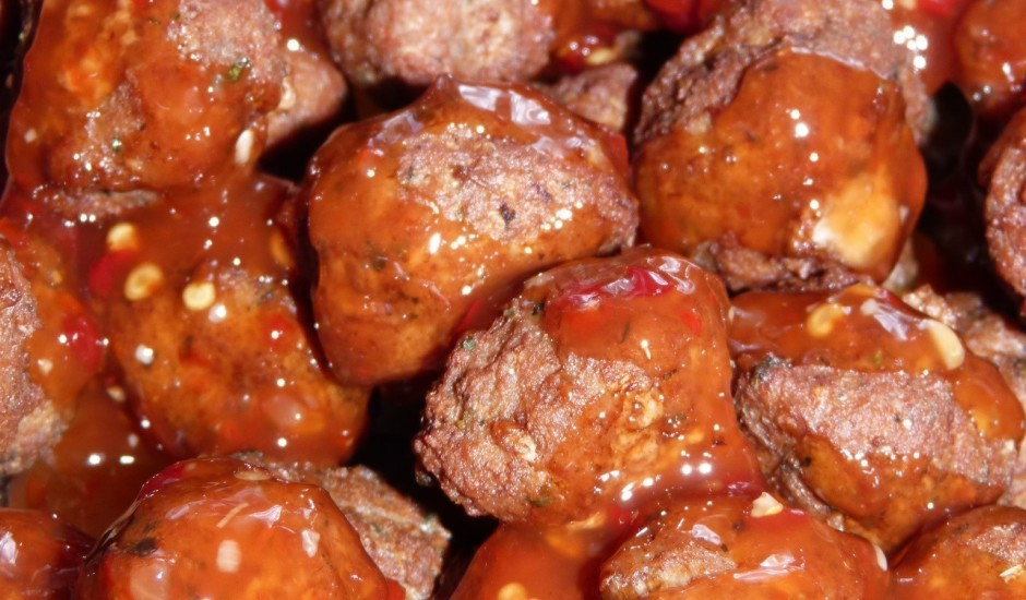 Pikantās gaļas bumbiņas