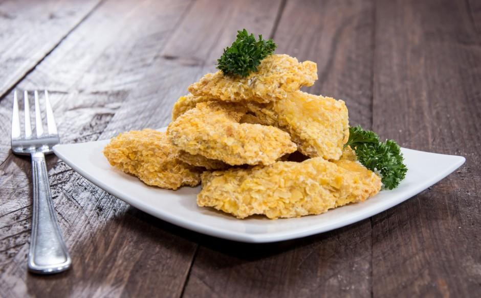 Fritē eļļā vai cep sviestā līdz zeltainam tonim.  Labu ape...