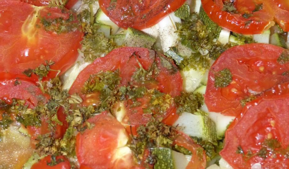 Kārtainais dārzeņu un gaļas sautējums