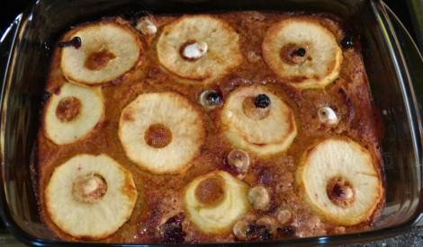 Ķirbja kūka ar āboliem