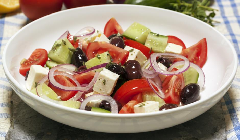 Grieķu stila salāti