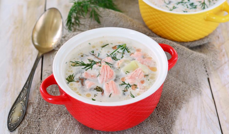 Laša zupa ar kartupeļiem un burkāniem