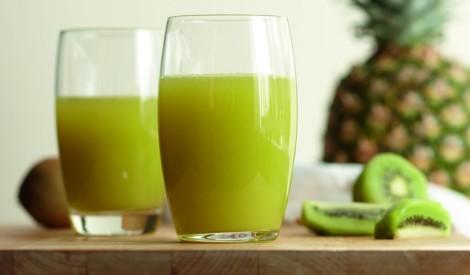 Ananasa - kivi kokteilis (Sienāzis)