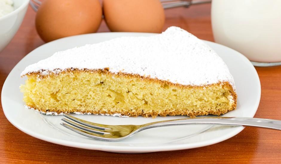 Garšīgā kūku biskvīta mīkla