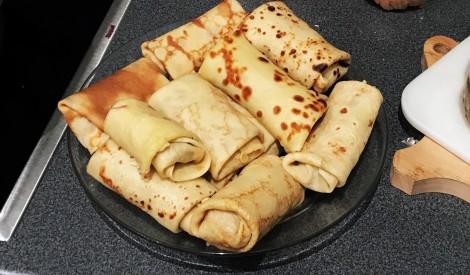 Komorgenvīderi jeb pankūkas ar maltu gaļu