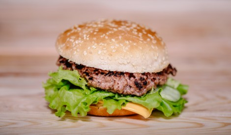Burgers mājas gaumē