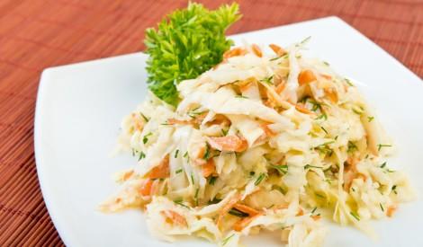 Vienkārši gardi kāpostu salāti