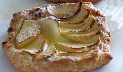 Ābolu maizītes ar biezpienu