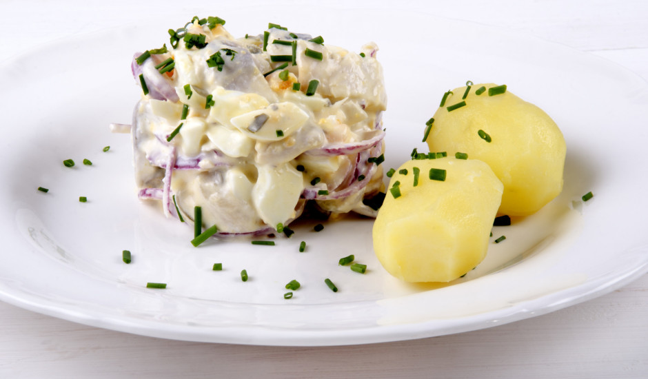 Siļķes salāti