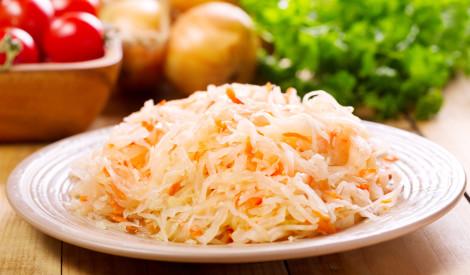 Skābo kāpostu salāti