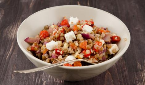 Siltie griķu salāti