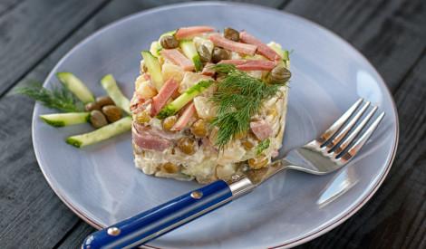 Poļu kartupeļu salāti