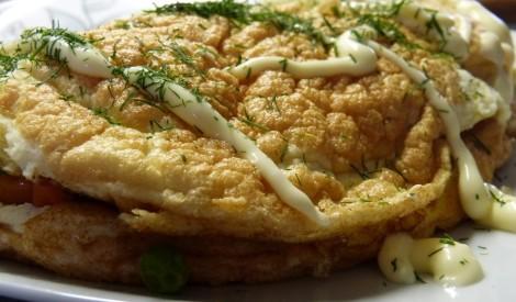 Omlete ar dārzeņiem