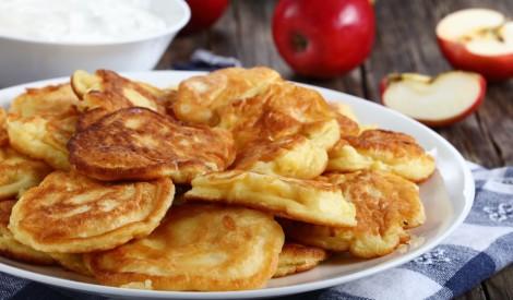 Ābolu pankūkas ābolu gaumē