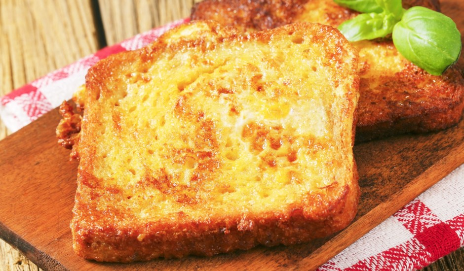 Ceptas olu maizītes franču gaumē