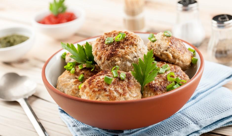 Cūkgaļas - kartupeļu kotletes