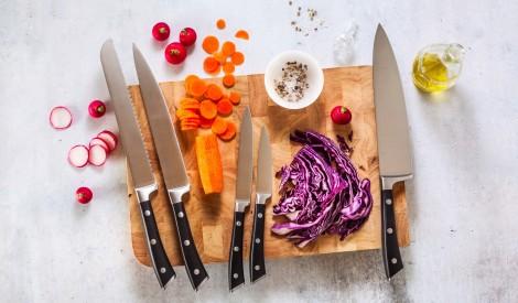 10 noteikumi, kas jāzina par virtuves nažiem!