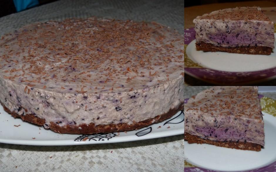 Sastingušu kūku griež un pasniedz.  Lai labi garšo!