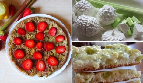 Saldi skābenā rabarberu izlase - 18 receptes izvēlei