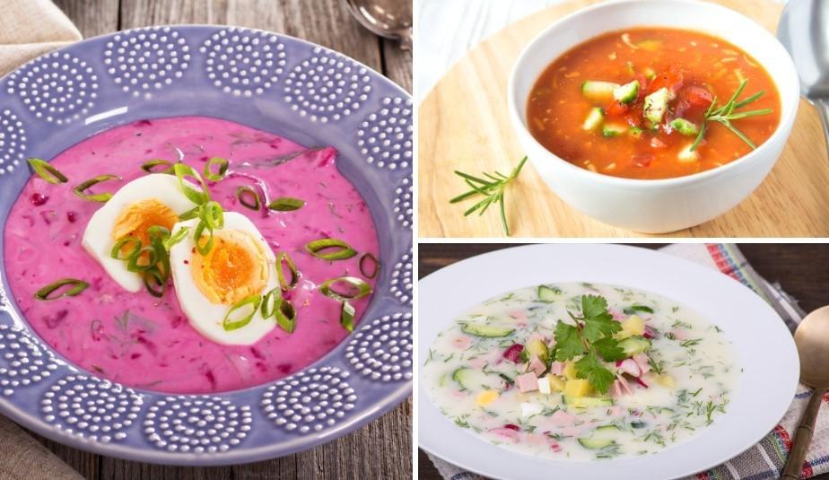 Auksto zupu sezona: 18 receptes katra gaumei