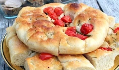 Fokača - ātrā itāļu maize