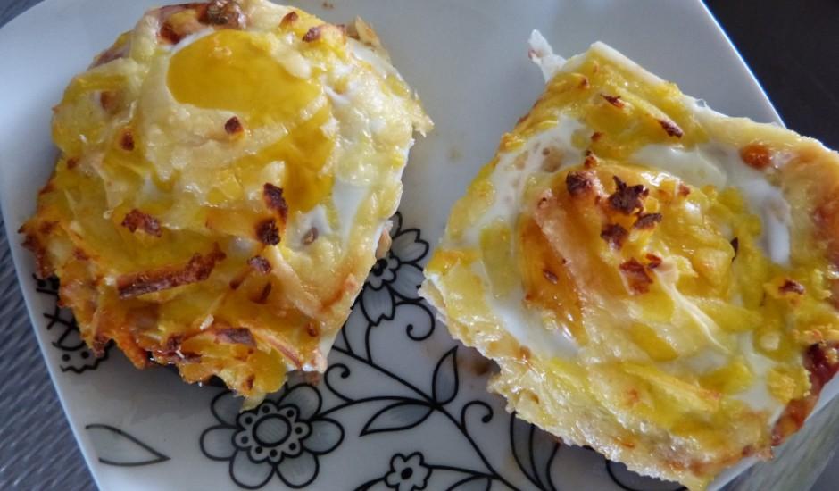 Baklažāni ar olu un sieru