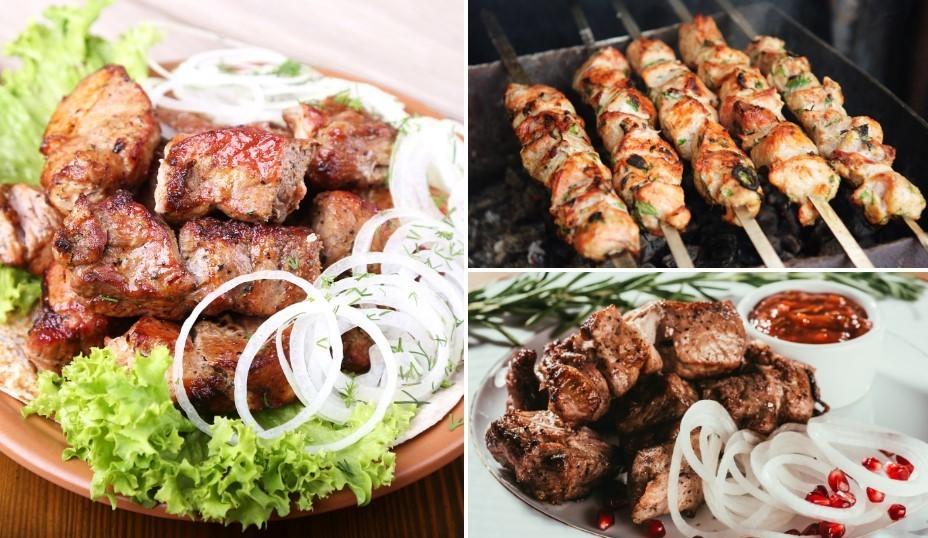 Grilē garšīgi: 18 daudzveidīgas cūkgaļas šašliku receptes