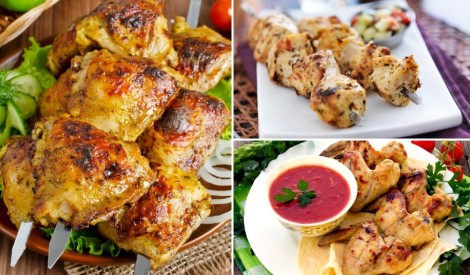 Vienu mazu vistiņu? 15 receptes vistas gaļas grilēšanai