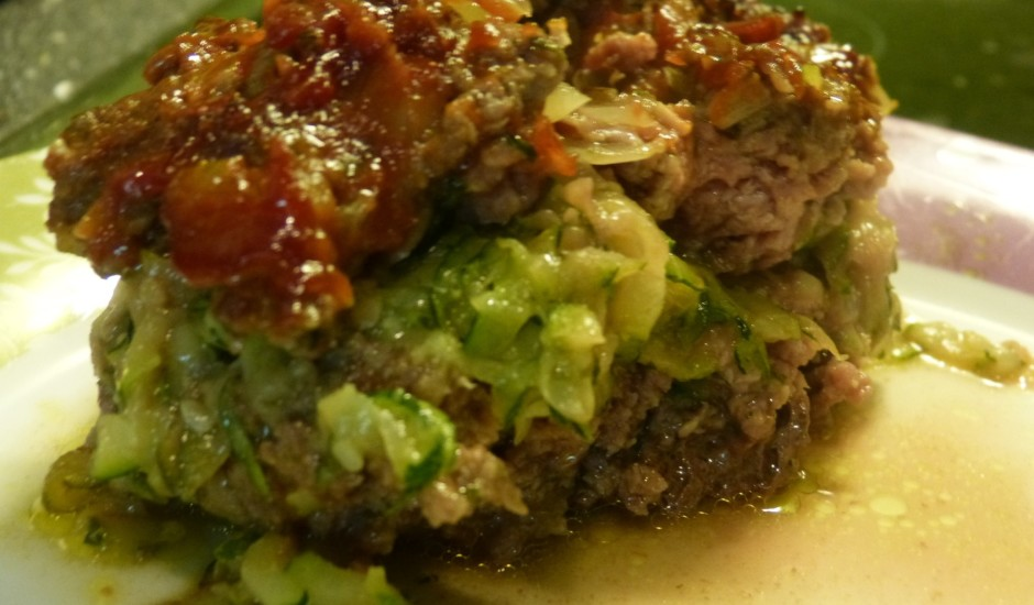 Malta gaļa ar kabačiem