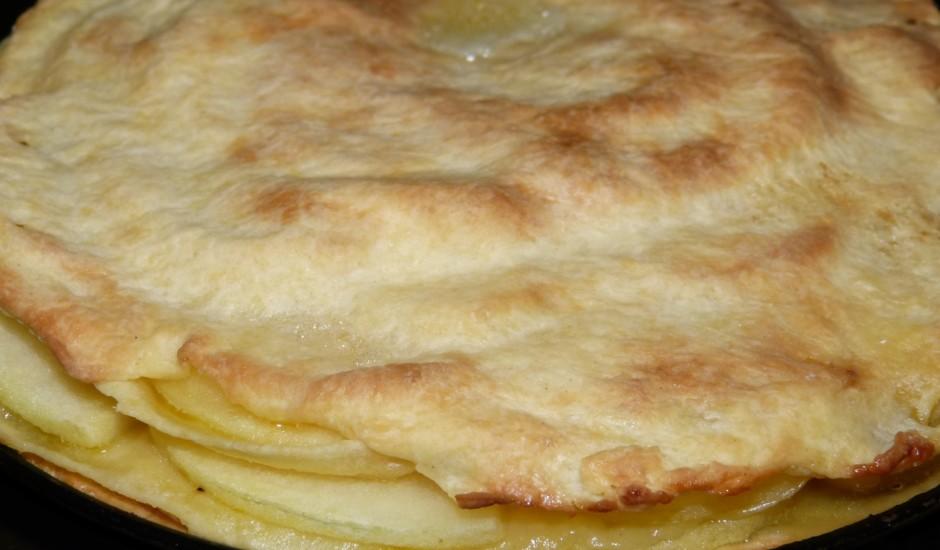 Vienkāršais ābolu pīrāgs.