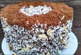 Kraukšķīgā šokolādes torte