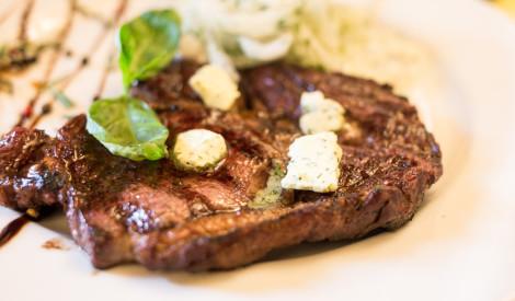Piparotais steiks