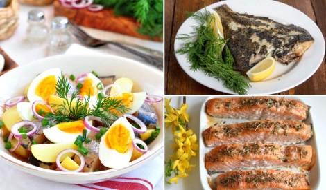 Sagaidot Zvejnieksvētkus: zivju ēdienu recepšu izlase