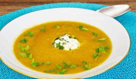 Blendētā dārzeņu zupa