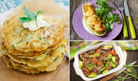 Kabaču prieki: 15 zaļas kabaču receptes
