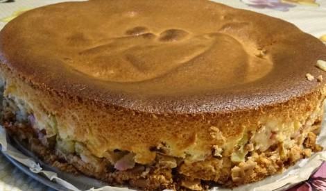 Zeltainais rabarberu pīrāgs