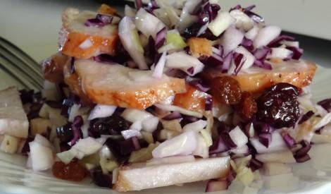 Tītara gaļas salāti ar kāpostiem