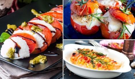 Aromātisko tomātu izlase: 18 receptes dažādībai