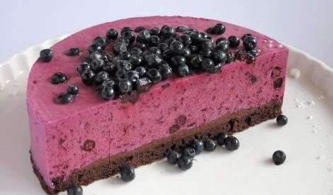 Svaigā melleņu kūka