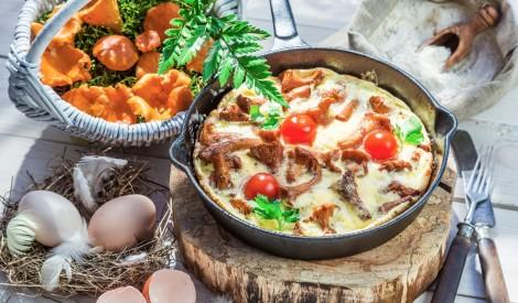 Gaileņu omlete