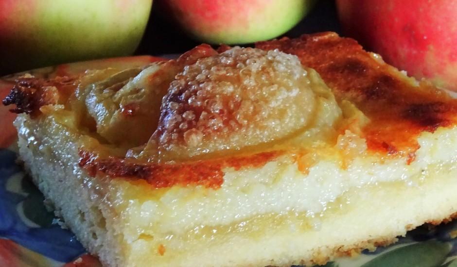 Vienkāršā ābolu plātsmaize