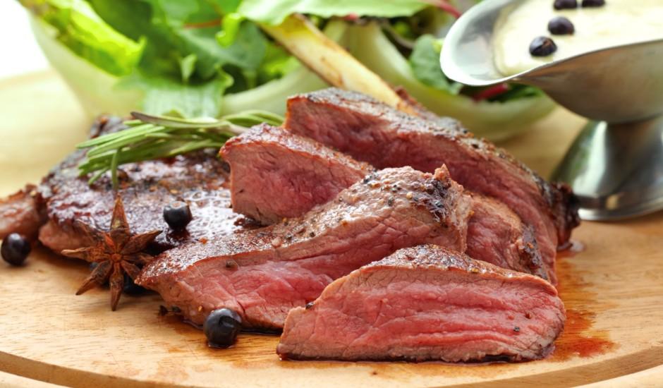 Brieža gaļas steiks