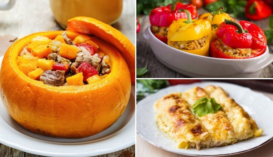 Pildītie gardumi vakariņām - 9 receptes izvēlei