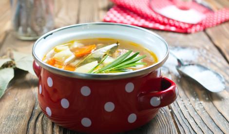 Lašu muguriņu zupa