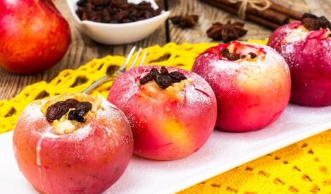 Cepti āboli ar rozīnēm