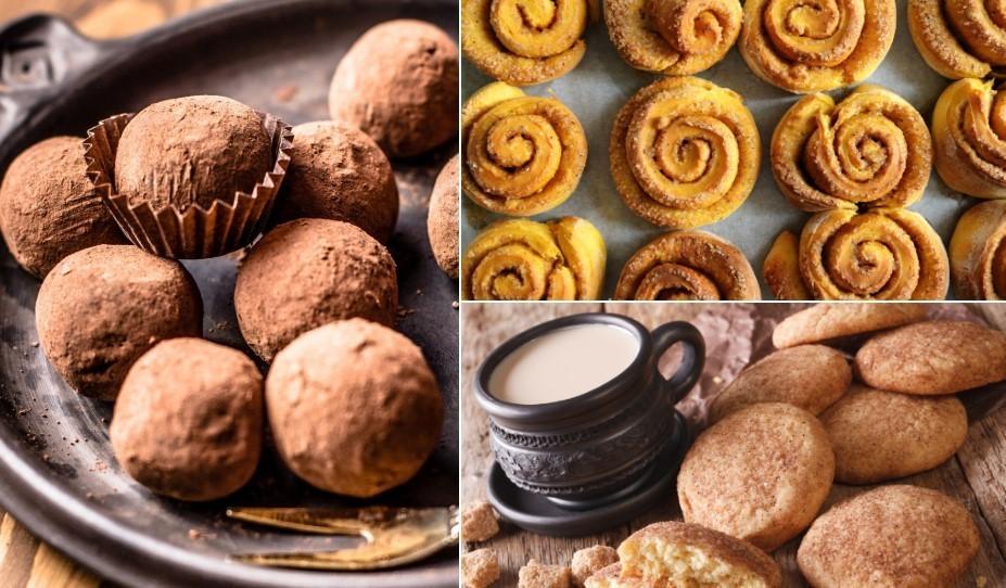 Ziemas smarža gaisā: saldie ēdieni ar kanēli