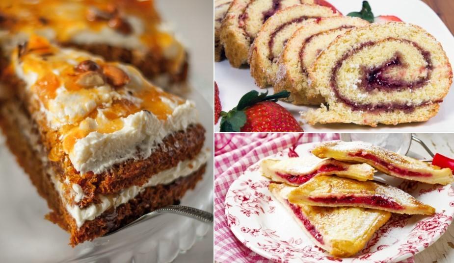 Skrūvē vaļā ievārījuma burciņas: top kūkas, kēksi un deserti