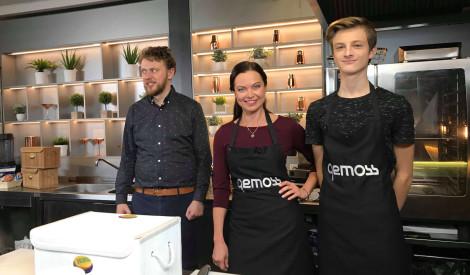 """Mūziķis Atis Zviedris vai aktrise Evija Skulte - kurš labāks virtuvē? Noskaidro """"Nu ko, gatavosim!"""" 2. raidījumā!"""