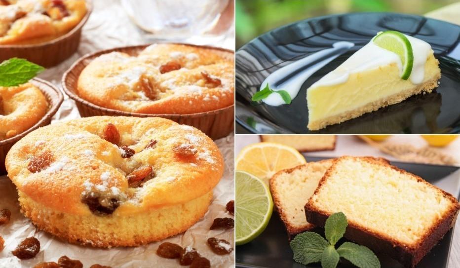 Citrons kūkās un kēksos - saldskābā recepšu izlase